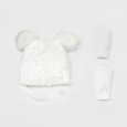 Headwear Sets Cat & Jack Cream, Beige