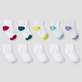 Girls' Athletic Socks Multi-Colored L - Cat & JackÂ
