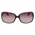 Merona Gradient Brown Lens Sunglasses - Brown Striated Frame