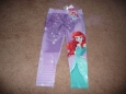 Disney Princess Toddler Girl Little Mermaid Leggings Size 3t -
