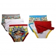 Boys' Captain Underpants 5pk Classic Briefs - Multi-Colored 6, Multicolored