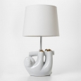 Sloth Table Lamp - Pillowfort, Gold White