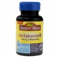 Nature Made Melatonin + 200mg L-Theanine 3 mg - 60 Liquid Softgels