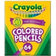 Crayola Kids' Choice Colors 64-pk. Short Colored Pencils