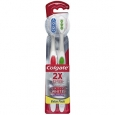 Colgate Optic White 360 Platinum Toothbrush, Full Head, Soft, 2 ea