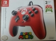 Powera Plus - Super Mario Edition Controller For Nintendo Switch - Red/black