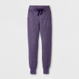 Girls' Shine Jogger Pants - art class Blackberry M, Purple