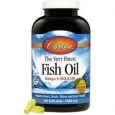 Very Finest Fish Oil Orange 1000 MG 240 Softgels
