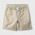 Toddler Boys' Pull-On Shorts - Cat & Jack Vintage Khaki - 2T, Beige