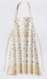 Threshold Printed Flat Apron In Ivory/gold Snowflake Christmas 34in X 34in
