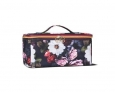 Sonia Kashuk Large Train Case Organizer Travel Bag Floral Collection