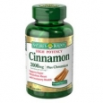 Nature's Bounty Cinnamon 2000 mg Plus Chromium 400 mcg 60ct