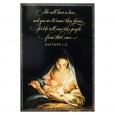 Dayspring 14ct Mary Holiday Boxed Cards, Black