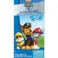 32ct Valentine's Day Paw Patrol Scented Tattoos, Multi-Colored