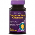 Natrol 60-count Cinnamon Chromium Biotin Supplements (Pack of 3)