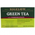 Bigelow Tea Green Tea Pomegranate 20 Tea Bags