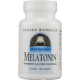 Source Naturals Melatonin Sublingual Peppermint 2.5 mg - 240 Tablets