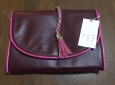 Women's Tassel Clutch - A Day Berry