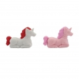 16ct Valentine's Day Unicorn Deluxe Erasers - Spritz, Multi-Colored