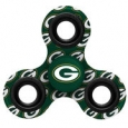 Green Bay Packers Logo Three-Way Fidget Spinner