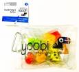Yoobi Fun Erasers Animal Figure Food Puzzle Eraser Fries Icecream School