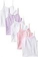 Hanes Big Girls' Camis, Assorted, Small (Pack of 5)