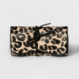 Women's Jewelry Roll with Interior Jewelry Organizer - A New Day Leopard Print,