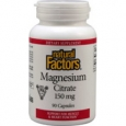 Natural Factors Magnesium Citrate 150 mg - 90 Capsules