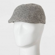 Men's Ivy Tiny Stripe & Off White Driving Cap - Goodfellow & Co&153; Black O...