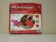 Simple Living Solutions Quick Draw Gift Wrap Storage Bag Red One Size Fits All