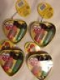 M&m Lip Smacker 3 Pack Lip Balm Chocoate Flavored Rare Valentines Tin Collector