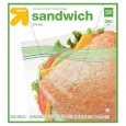 up & up Double Zipper Sandwich Bags 300 ct