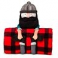 Lumberjack Throw & Pillow Buddy - Pillowfort&153;