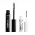 Brand In Box Nyx Cosmetics Double Stacked Mascara &nylon Lash Fibers-dsm01