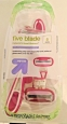 Up & Up Women's 5 Blade Disposable Razors - 5 Pack Pink - New,opened