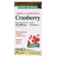Nature's Bounty Triple Strength Cranberry Fruit Concentrate with Vitamin C 25200 mg - 60 Softgels