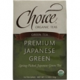 Choice Organic Teas Green Tea Japanese 16 Tea Bags