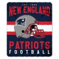 "Style Football England Patriots Fleece Blanket Soft Throw 50"" X 60"""