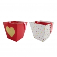 2ct Basket Heart Print - Spritz, Multi-Colored
