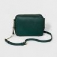Women's Camera Crossbody Handbag - A Day Teal