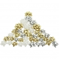 Berwick 40ct Gold, Silver and White Decorative Bows