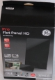Ge Pro Flat Panel Hd Antenna 33681 - Black -