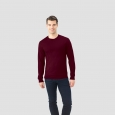 Fruit Of The Loom Men's Long Sleeve T-Shirt - Athletic Maroon (Red) 2XL