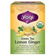 Yogi Organic Herbal Green Tea Lemon Ginger 16 Tea Bags