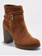 A Day Women's Nala Platform Wrap Booties - Cognac - Size:8.5