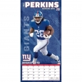 York Giants Wall Calendar