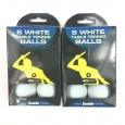 Franklin Sports 40mm 1-star White Tournament Table Tennis Ping Pong Balls 6-pack
