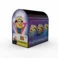 32ct Valentine's Day Minions Despicable Me 3 Mailbox and Cards, Multi-Colored