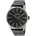 Nixon Men's Sentry Ss A3562541 Silver Stainless-Steel Quartz Fashion Watch