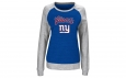 York Giants Women's Raglan Pullover Sweatshirt Size L